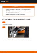 Como mudar e ajustar Pendural da barra estabilizadora TOYOTA RAV4: tutorial pdf