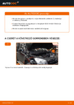 TOYOTA RAV4 Fékbetét készlet cseréje : ingyenes pdf