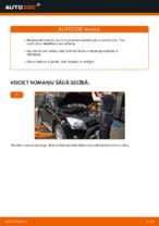 TOYOTA aizmugurē un priekšā Bremžu uzlikas nomaiņa dari-to-pats - tiešsaistes instrukcijas pdf