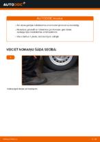 Soli-pa-solim PDF apmācība kā nomaināms OPEL ASTRA Amortizators