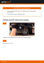 VW GOLF Stabdžių apkaba keitimas: nemokamas pdf