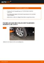 TOYOTA Stabistange hinten links wechseln - Online-Handbuch PDF