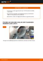 PDF Wechsel Anleitung: Radlagersatz TOYOTA hinten + vorne