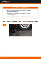 Comment remplacer les amortisseurs de suspension arrière sur une OPEL ASTRA G (T98, F08, F48)