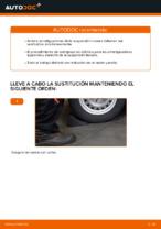 Cómo cambiar los amortiguadores de suspensión trasera en OPEL ASTRA G (T98, F08, F48)