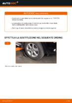 Cambio Puntone stabilizzatore istruzioni pdf per TOYOTA RAV4