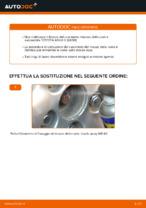 Come sostituire il cuscinetto del mozzo della ruota posteriore su TOYOTA RAV4 III (XA30)