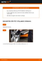 Hur man byter ut krängningshämmaren på TOYOTA RAV4 III (XA30)