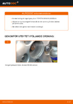 TOYOTA RAV 4  (SXA1_) reparations- och underhåll handledning