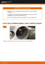 Changement Roulement De Roues TOYOTA RAV4 : manuel d'atelier
