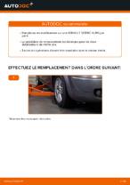 Comment changer et régler Biellette de suspension RENAULT SCÉNIC : tutoriel pdf