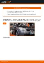 Remplacement Bras de liaison suspension de roue RENAULT SCÉNIC : instructions pdf