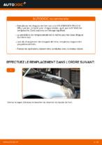 Changer Disque de frein arrière et avant VW à domicile - manuel pdf en ligne