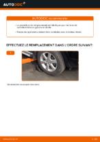 PDF manuel de remplacement: Triangle de suspension TOYOTA arrière et avant