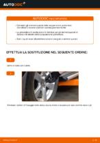 Come sostituire gli ammortizzatori della sospensione posteriore su TOYOTA RAV4 III (XA30)