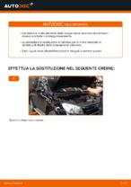Come sostituire le molle della sospensione anteriore su TOYOTA RAV4 III (XA30)