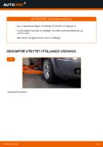 PDF guide för byta: Krängningshämmarstag RENAULT bak och fram