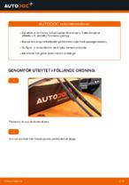 Manuell PDF för V70 underhåll
