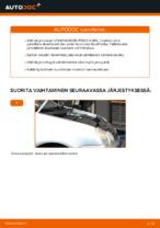 Vaihda VW Jarrulevy itse - käsikirja verkossa