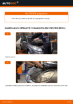 Priročnik za delavnico za Renault Scénic IV