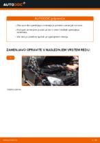 Vgraditi Blažilnik TOYOTA RAV 4 III (ACA3_, ACE_, ALA3_, GSA3_, ZSA3_) - priročniki po korakih