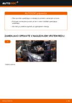 Kako zamenjati sprednji blažilnik na RENAULT SCENIC II (JM)