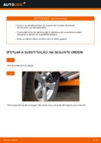 Como substituir os amortecedores da suspensão traseira em TOYOTA RAV4 III (XA30)