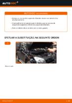 Como substituir a coluna de suspensão dianteira no TOYOTA RAV4 III (XA30)