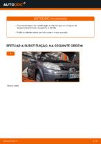Mudar Braço transversal longitudinal oblíquo: instrução pdf para RENAULT SCÉNIC
