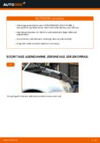 VW POLO samm-sammuline remondijuhend