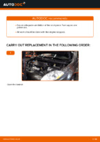 Free online instructions on how to renew Fuel Filter on FIAT BRAVO II (198)