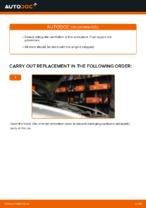 gasoline Fuel Filter changing on VOLVO V50: online tutorial