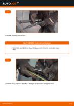 Kaip pakeisti galinius valytuvų šepetėlius VOLVO V70 II (SW)