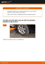 Auswechseln Dreieckslenker TOYOTA RAV4: PDF kostenlos