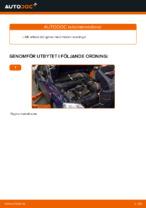 Byta Hållare motormontering bak vänster OPEL ASTRA: online guide