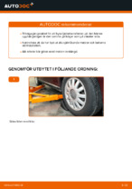 Laga Fjäderbenslagring AUDI A3: verkstadshandbok