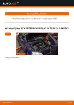 W jaki sposób wymienić prawy wspornik silnika w OPEL ASTRA G (T98, F08, F48)
