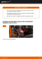 PDF Wechsel Anleitung: Kofferraum Dämpfer RENAULT SCÉNIC II (JM0/1_) elektrisch