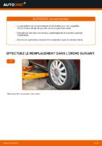 Comment remplacer le support de jambe de suspension avant sur une AUDI A3 8L1