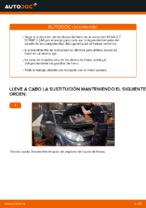 Cambio Juego de frenos de disco traseras y delanteras RENAULT bricolaje - manual pdf en línea