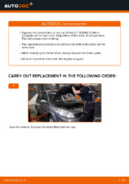 Step-by-step repair guide for Renault Scenic 3