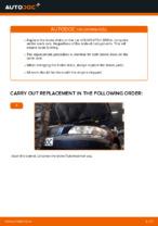 DIY manual on replacing Brake shoe kits VOLVO V70 II (SW)