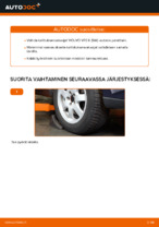 Automekaanikon suositukset VOLVO Volvo V70 SW 2.4 D5 -auton Raitisilmasuodatin-osien vaihdosta