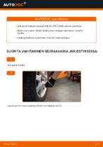 Milloin vaihtaa Tanko kallistuksenvaimennin VOLVO V70 II (SW): käsikirja pdf