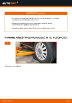 Jak wymienić mocowanie kolumny resorującej przedniej w AUDI A3 8L1
