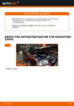 Πώς αντικαθιστούμε φίλτρο αέρα κινητήρα σε AUDI A3 8L1