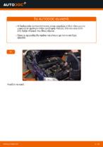 Πώς αντικαθιστούμε το μπροστινό μαρκούτσι φρένων σε OPEL ASTRA G (T98, F08, F48)
