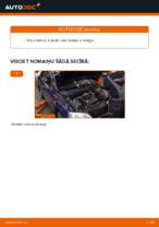 Opel Astra G Sedan instrukcijas par remontu un apkopi