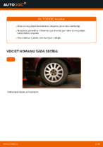 Automehāniķu ieteikumi AUDI Audi A3 8l1 1.8 T Bremžu diski nomaiņai