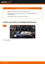 Online gratis instruktioner hvordan skifter man Støddæmper VOLVO V70 II (SW)